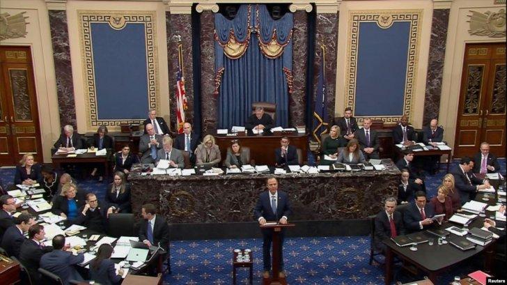 Senatda Donald Trumpun impiçment məhkəməsi