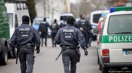 Almaniya polisi çeçen əsilli şübhəlilərlə bağlı