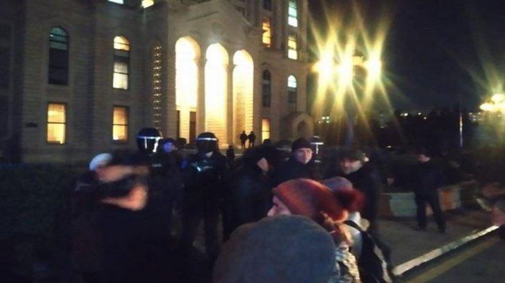 Qadın jurnalistlərə qarşı polis zorakılığı