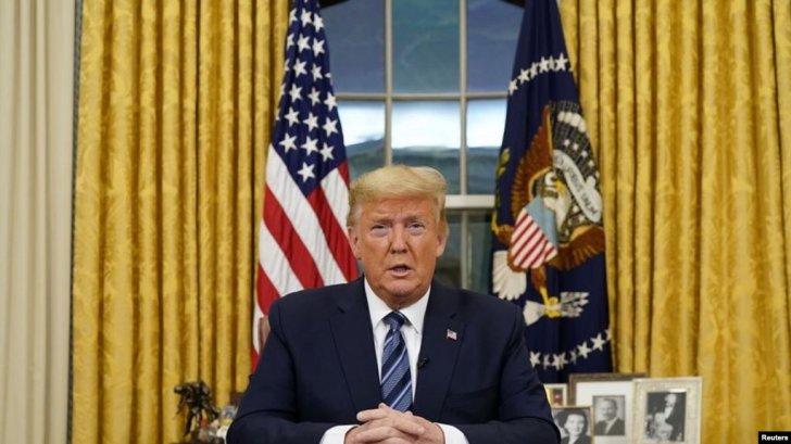 Prezident Donald Trump ABŞ-da fövqəladə vəziyyət