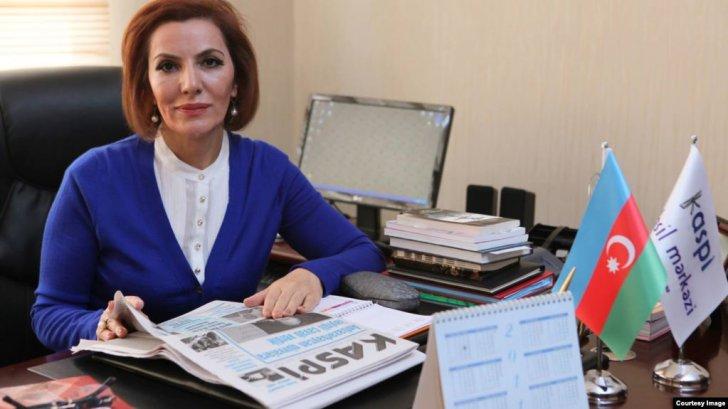 Əli Həsənovun xanımı Sona Vəliyevaya