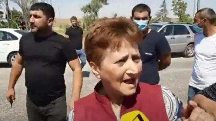 Abşeronda etiraz aksiyası: jurnalist-bloger saxlanıldı -
