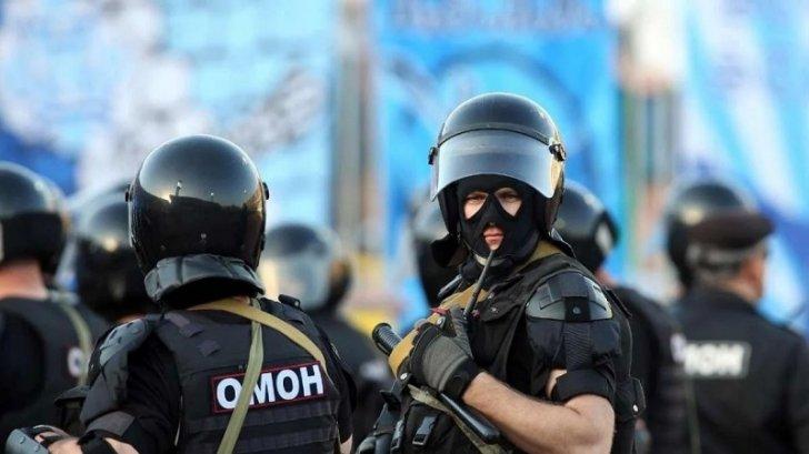 OMON Belarusda etirazçılara qarşı gözyaşardıcı qazdan istifadə edib