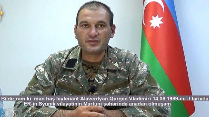 Saxlanılan erməni diversiya qrupunun komandiri danışdı -