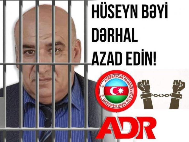 ADR Hərəkatının üzvü Hüseyn Məlik həbs edilib
