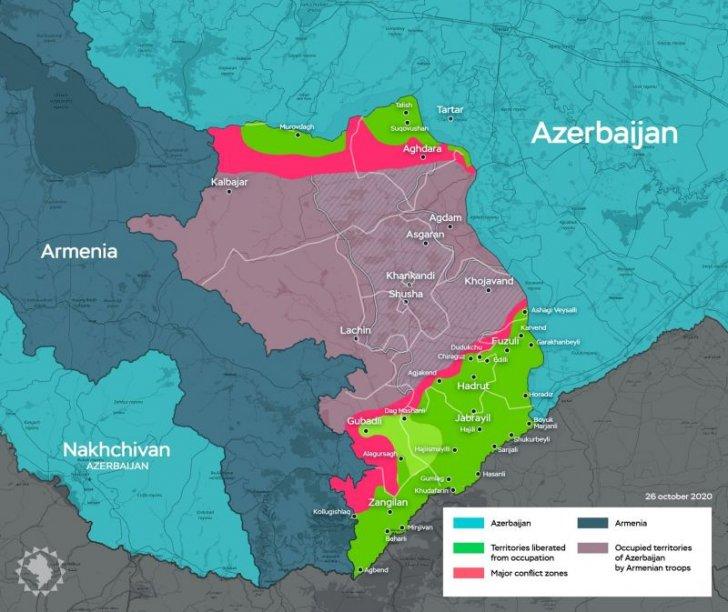 Azərbaycan Ordusu daha 16 kəndi azad edib