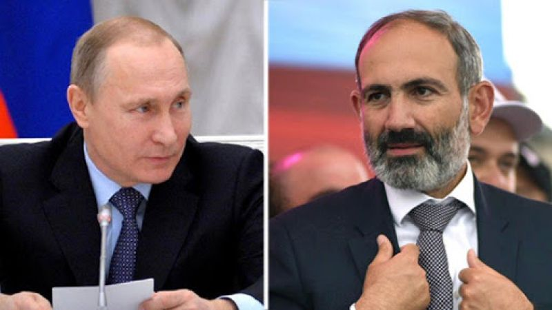 Putin və Paşinyandan Qarabağ münaqişəsi zonasındakı vəziyyət barədə