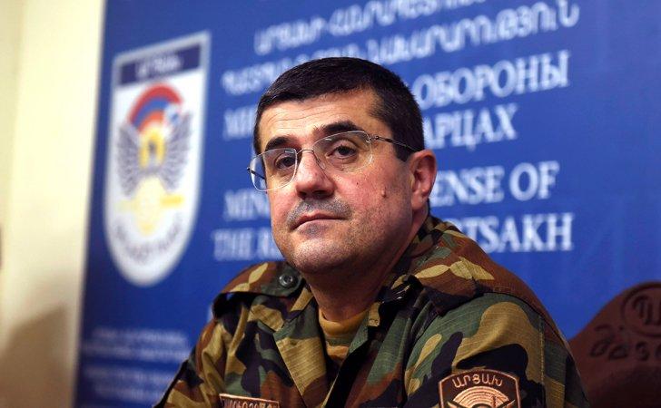 Separatçıların lideri Araik Arutyunyandan yeni müharibə