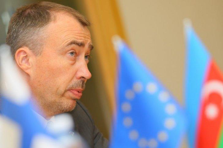 Avropa İttifaqının xüsusi nümayəndəsi Toivo Klaarın Bakıya