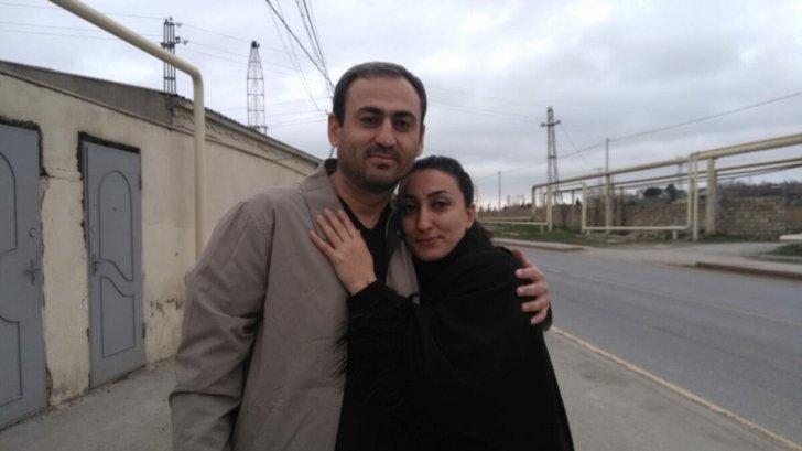 Baş prokuror həbsdə olan jurnalistin həyat yoldaşını qəbul edib