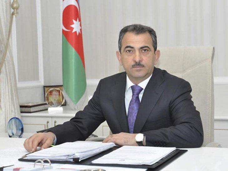 """Qorxmaz Hüseynov """"Azərsu""""nun sədri vəzifəsindən azad edildi"""